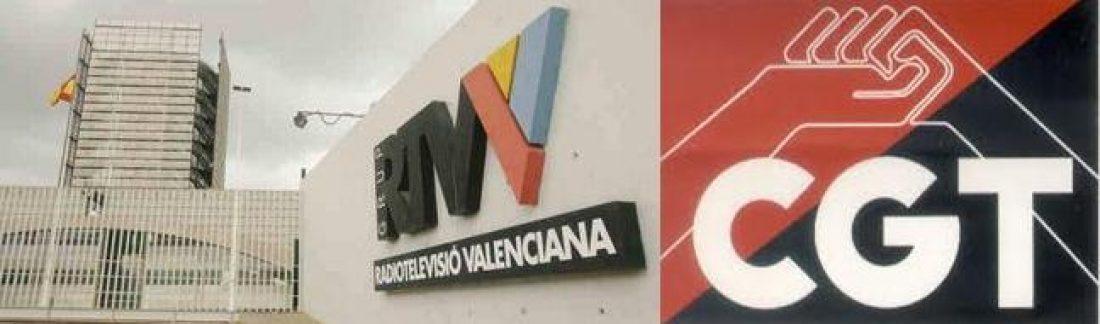 Para CGT-PV el anuncio de cierre de RTVV es un claro desprecio a los derechos de las y los valencianos