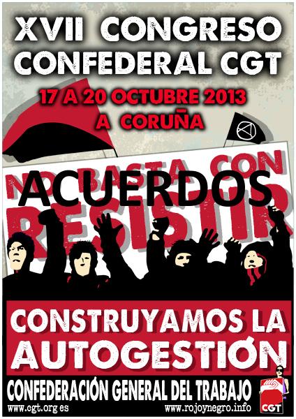 ACUERDOS DEL XVII CONGRESO CONFEDERAL DE LA CGT