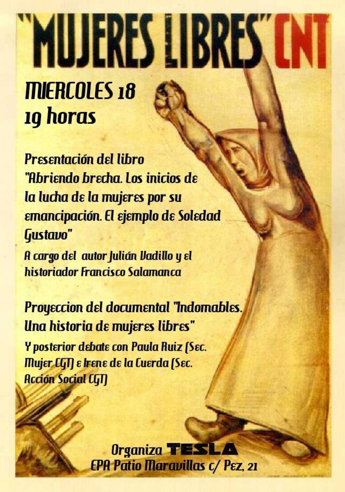 A propósito de Mujeres Libres y su lucha