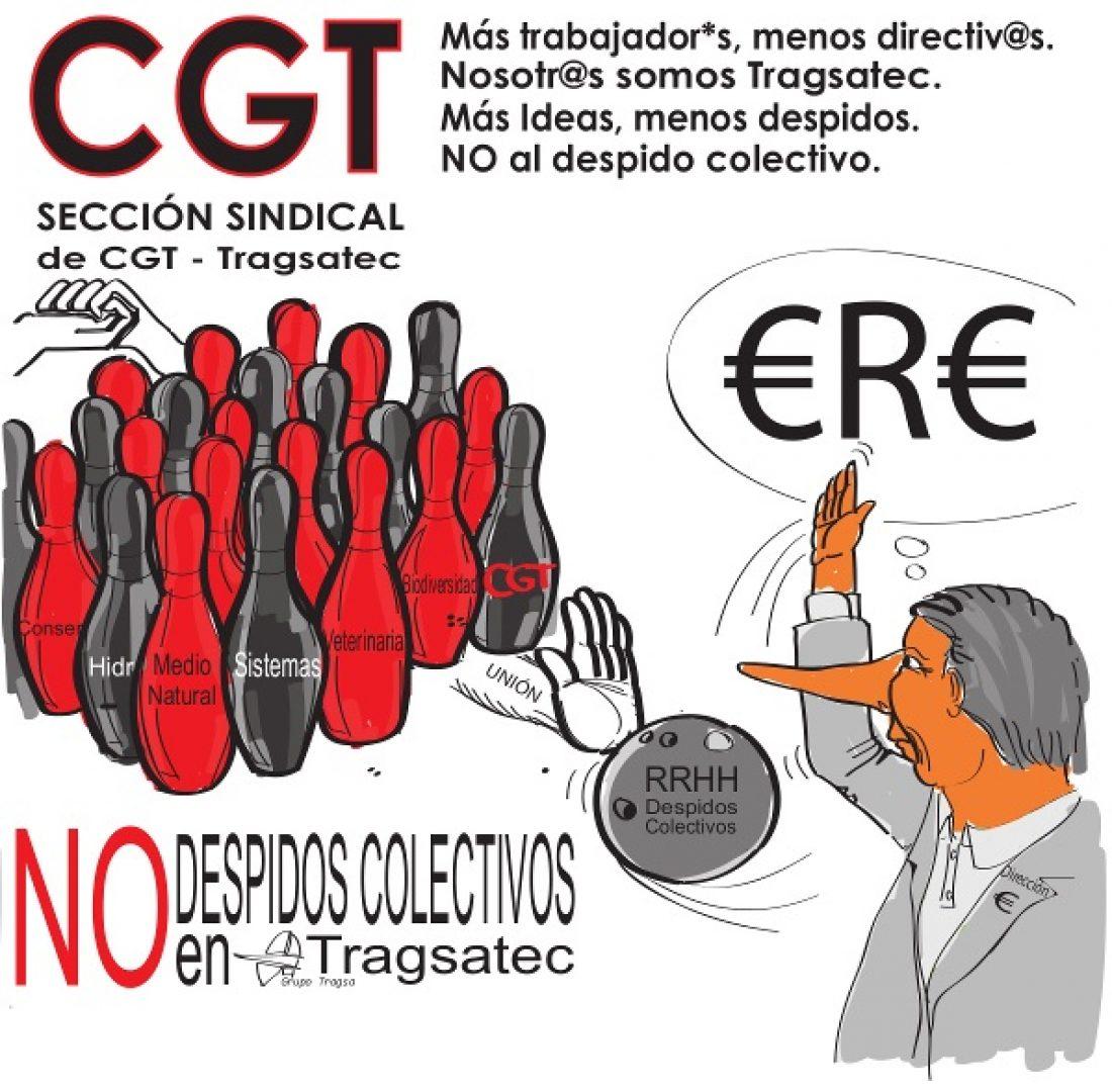 La Dirección de Tragsatec comunica a la Autoridad Laboral que ejecutará 610 despidos