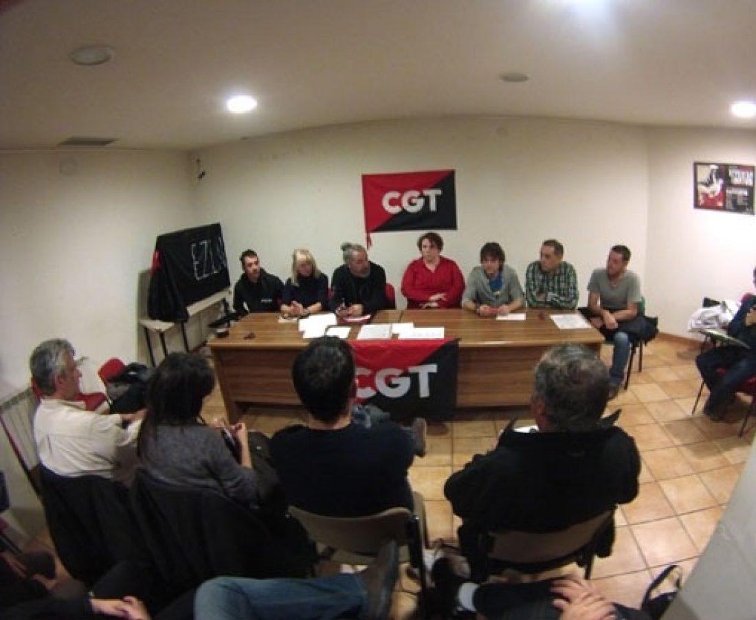CGT Aragón y La Rioja celebra su Congreso Extraordinario