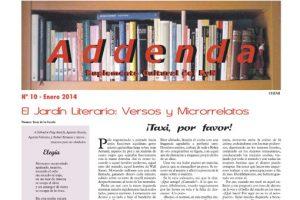 Addenda, suplemento cultural del RyN – Nº 10, enero 2014