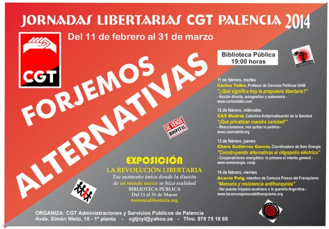 Jornadas Libertarias Palencia 2014