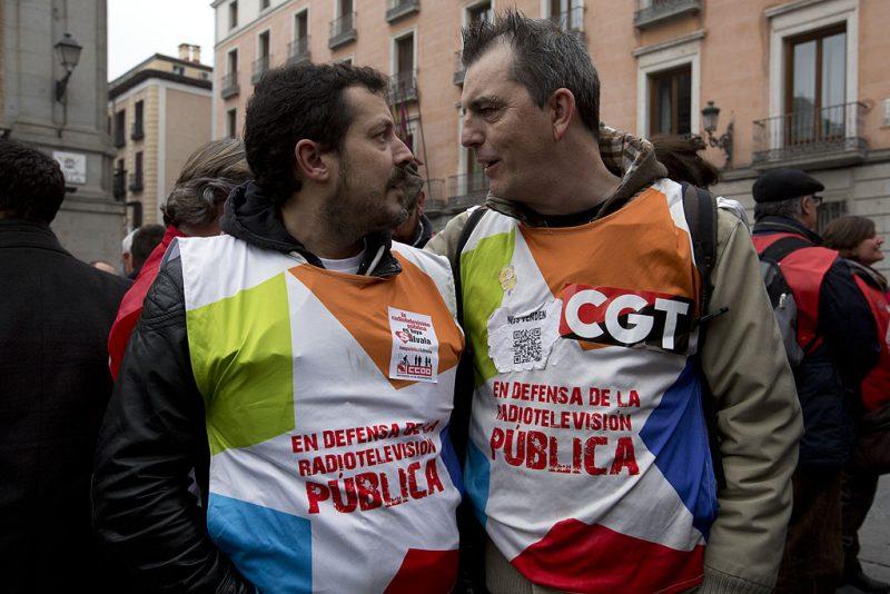 Manifestación en defensa de Telemadrid y contra el ERE en su primer aniversario - Imagen-7