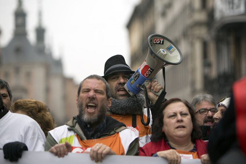 Manifestación en defensa de Telemadrid y contra el ERE en su primer aniversario - Imagen-8