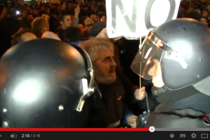 Videos: CGT apoya las reivindicaciones en Gamonal