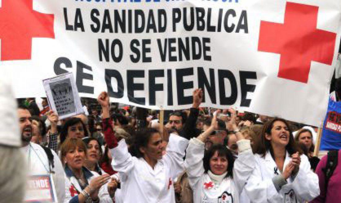 Huelga de limpieza en el Hospital Ramón y Cajal