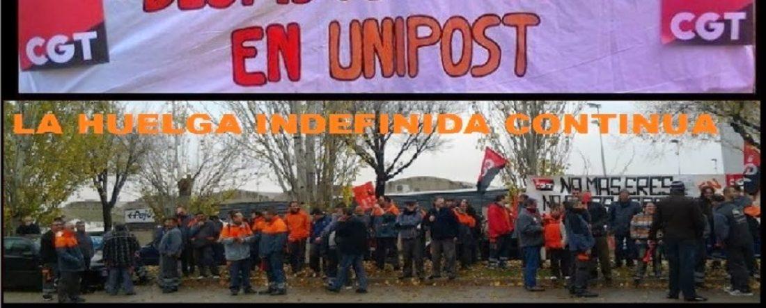 7º día de la huelga indefinida en UNIPOST