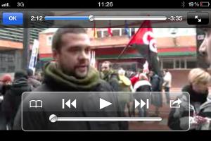 Vídeo: manifestación en alcorcon en defensa de lo público