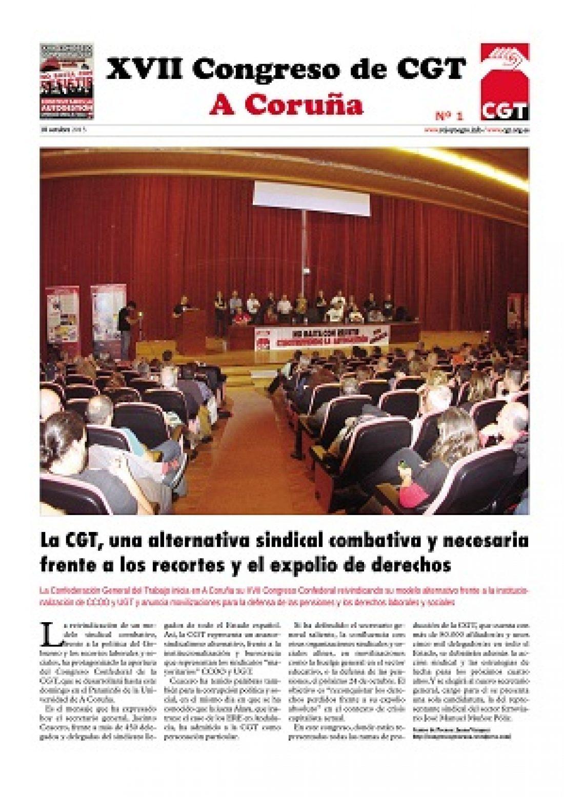 Diario del XVII Congreso Confederal