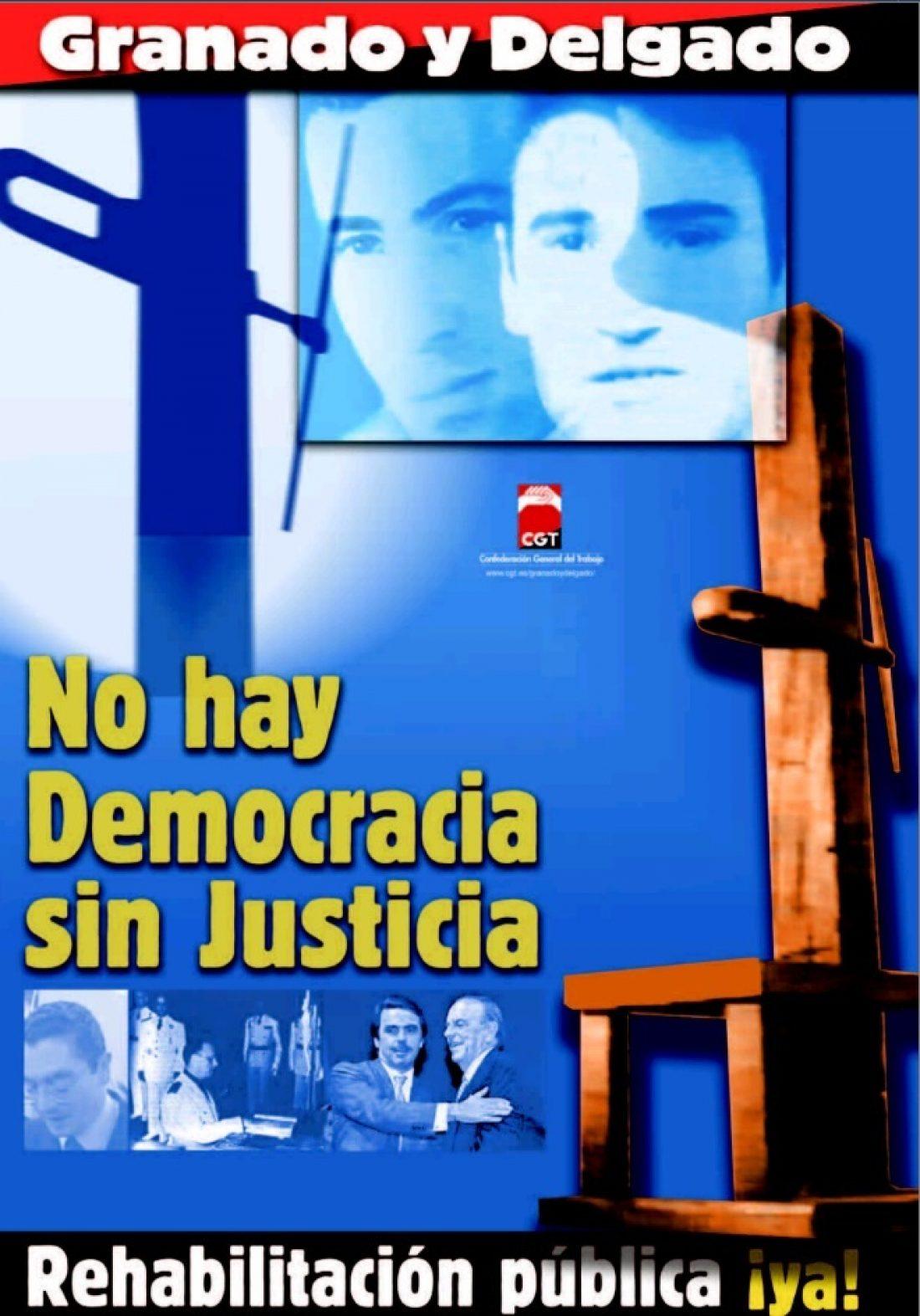 CGT entrega dossier del caso Granado y Delgado al Relator de la ONU