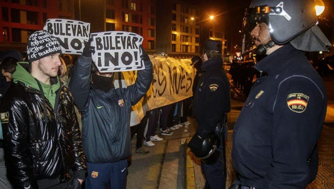 Cuenta solidaria de CGT con los vecinos encausados del barrio de gamonal (Burgos)