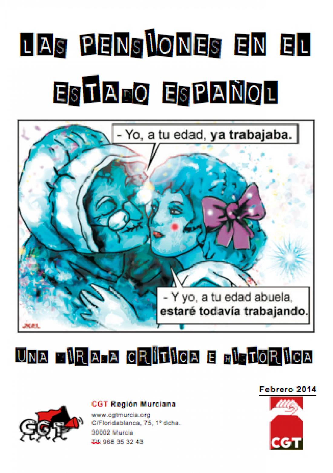 Las pensiones en el estado español, una mirada crítica e histórica