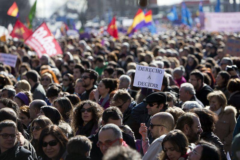 [Fotos]: Manifestación en Madrid por el aborto libre - Imagen-3