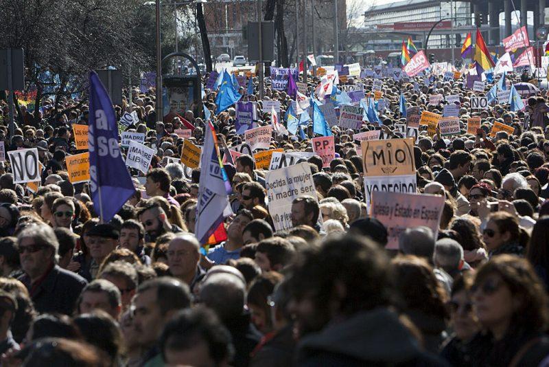 [Fotos]: Manifestación en Madrid por el aborto libre - Imagen-4