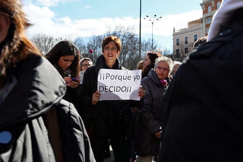 [Fotos]: Manifestación en Madrid por el aborto libre - Imagen-10