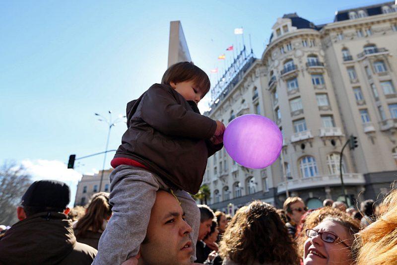 [Fotos]: Manifestación en Madrid por el aborto libre - Imagen-11