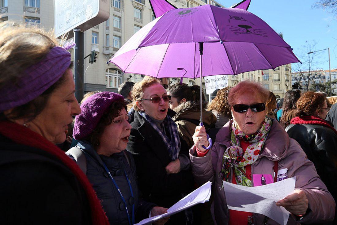 [Fotos]: Manifestación en Madrid por el aborto libre