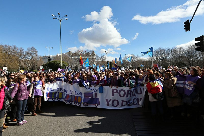 [Fotos]: Manifestación en Madrid por el aborto libre - Imagen-13