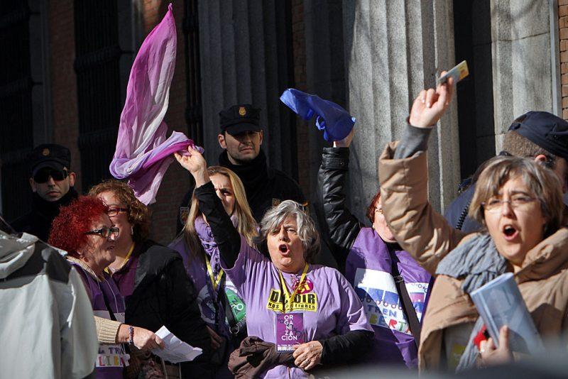 [Fotos]: Manifestación en Madrid por el aborto libre - Imagen-2