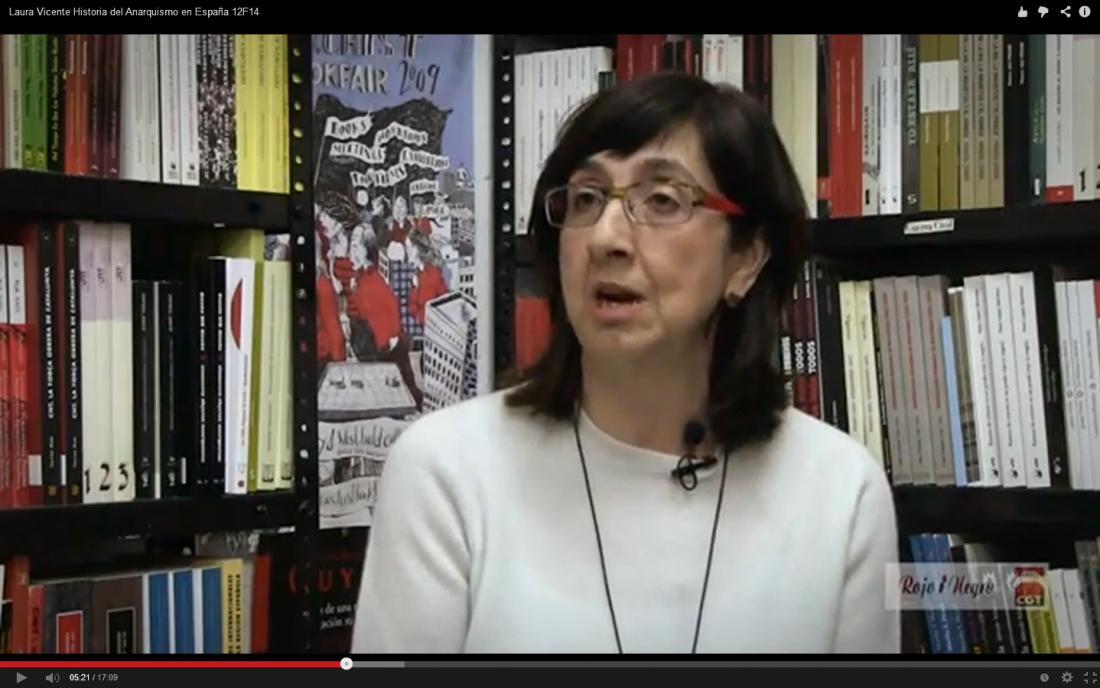 Entrevista: Laura Vicente, Historia del Anarquismo en España