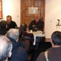 Charla-debate con Cecilio Gordillo, miembro de la asociación para la recuperación de la memoria histórica de Andalucía, en las jornadas libertarias de Errenteria.