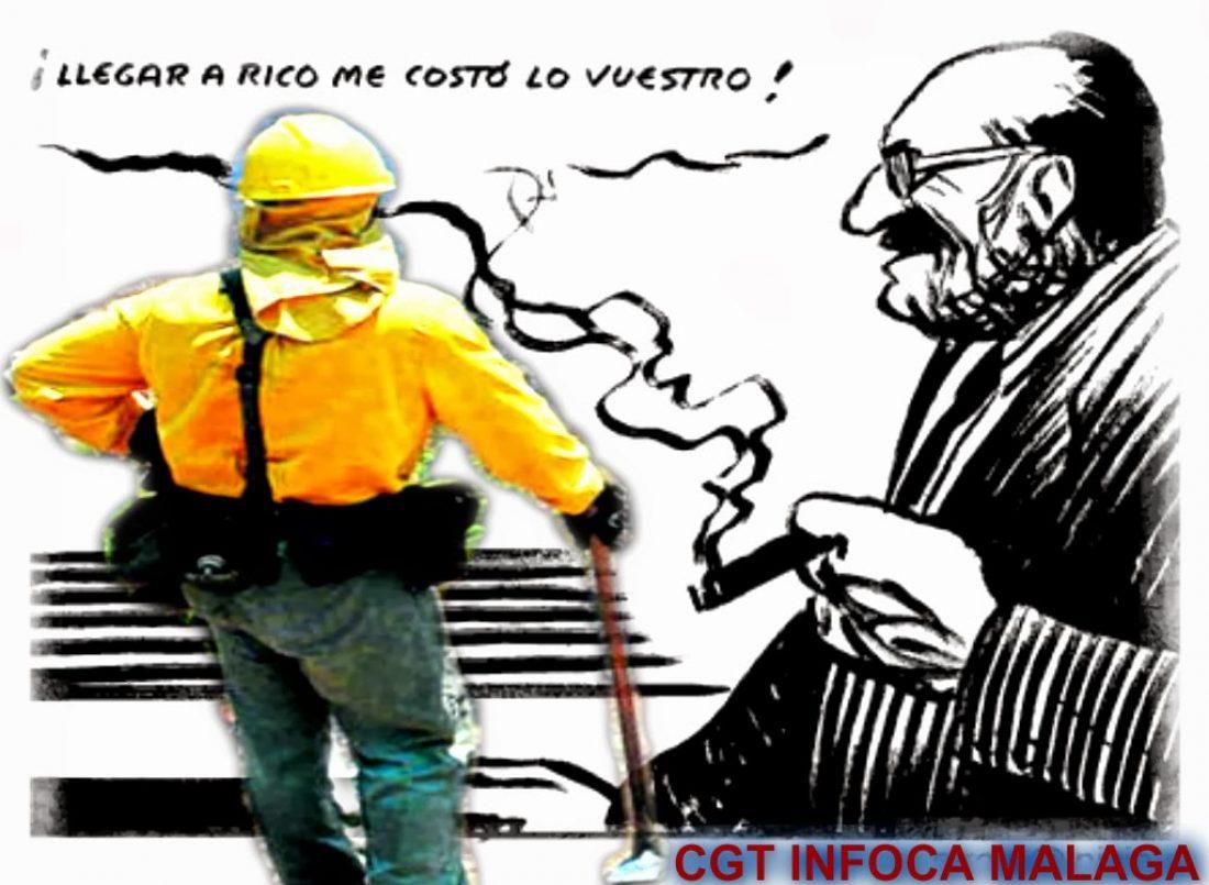 Los bomberos forestales de CGT se concentran hoy lunes 3 de febrero ante la Delegación del Gobierno de la Junta de Andalucía en Málaga (Alameda Principal)