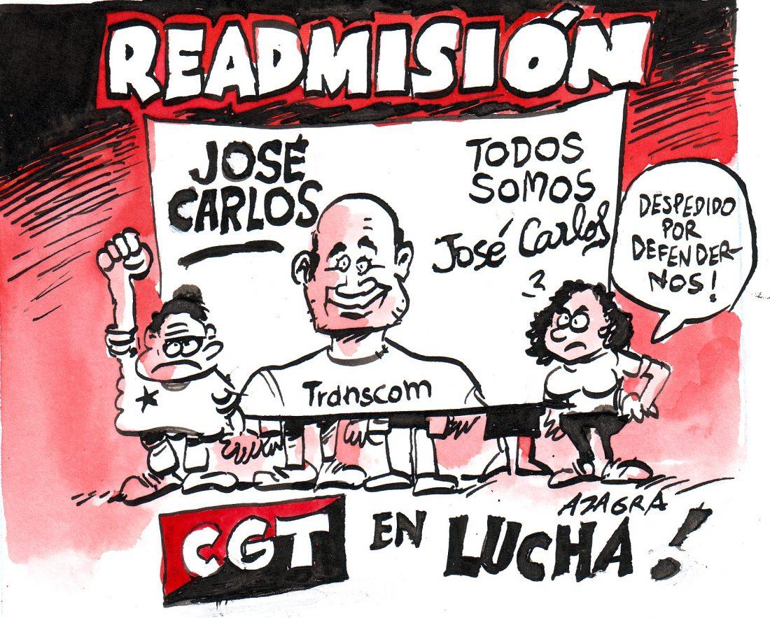 José Carlos readmisión
