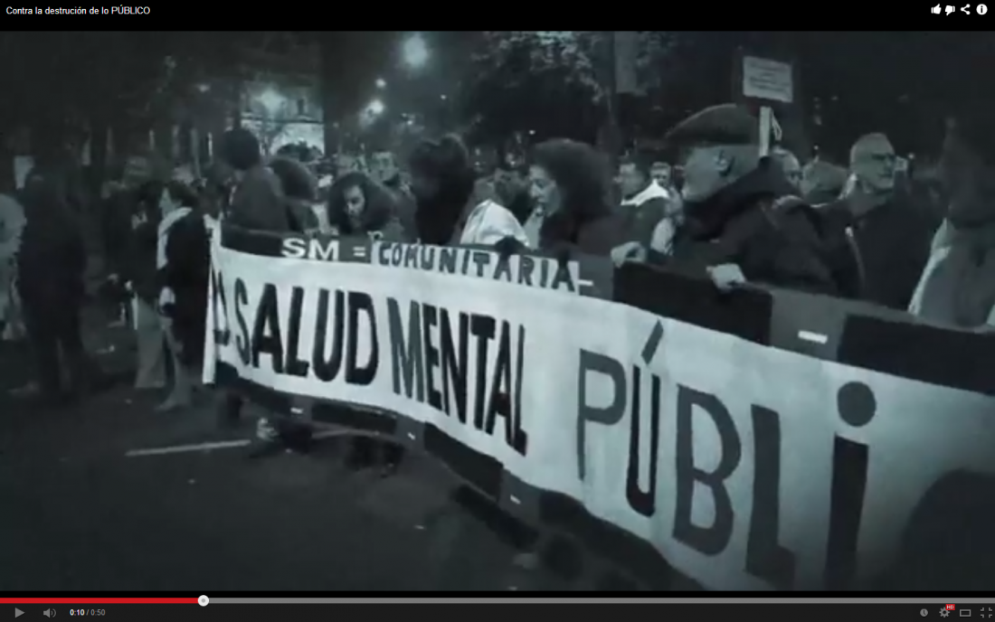 Video: Contra la destrución de lo PÚBLICO