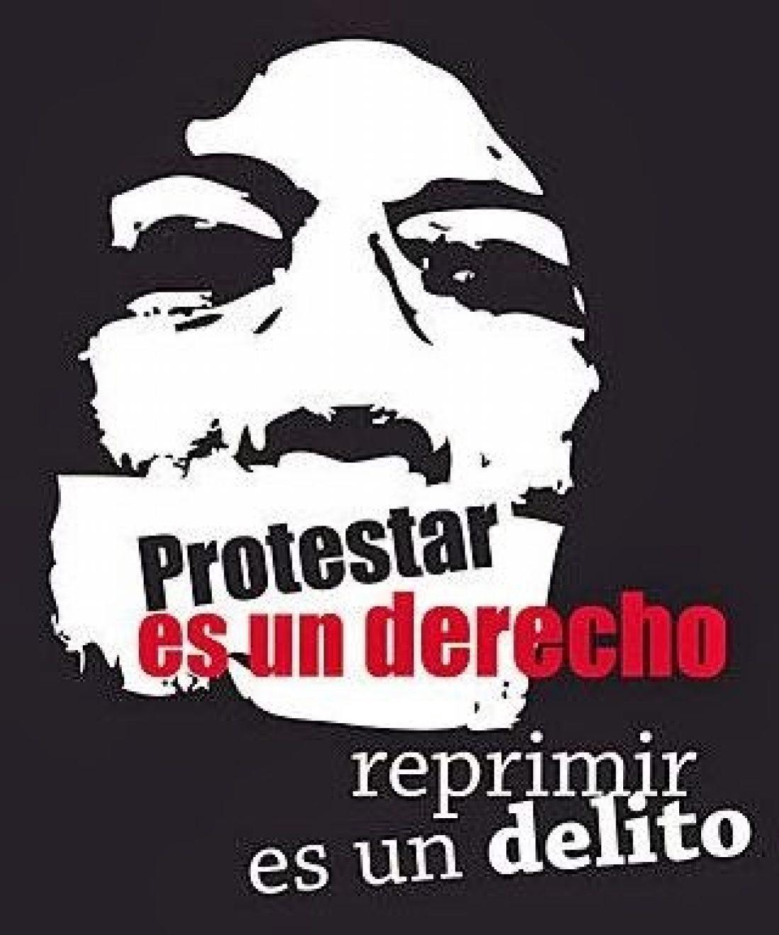 No a la represión