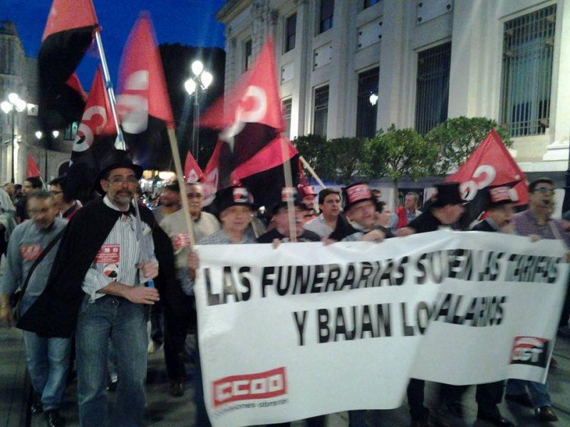 Cortejo funerario por las calles de Sevilla - Imagen-14