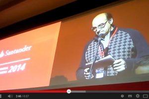 Vídeo: Intervencíon junta accionistas Banco Santander 2014
