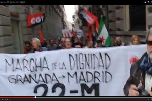 Vídeo: 22M-Salida desde Granada el 28 de febrero