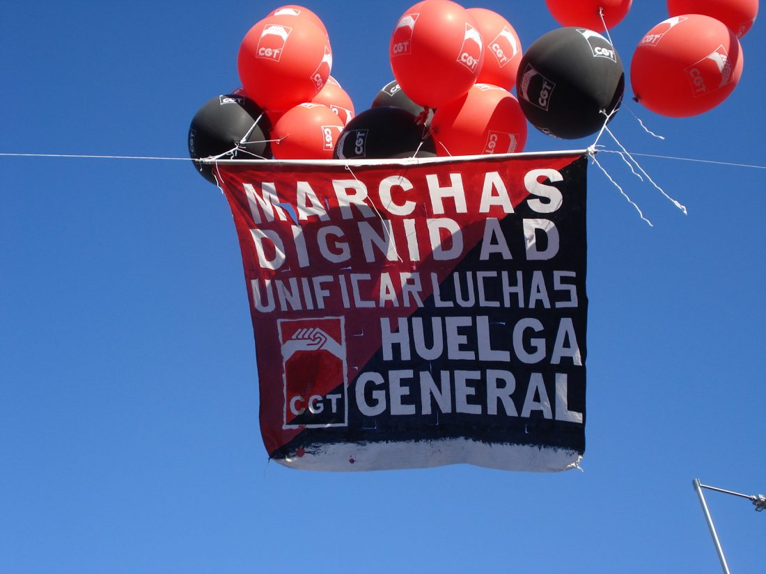 Las marchas llenan de dignidad Madrid