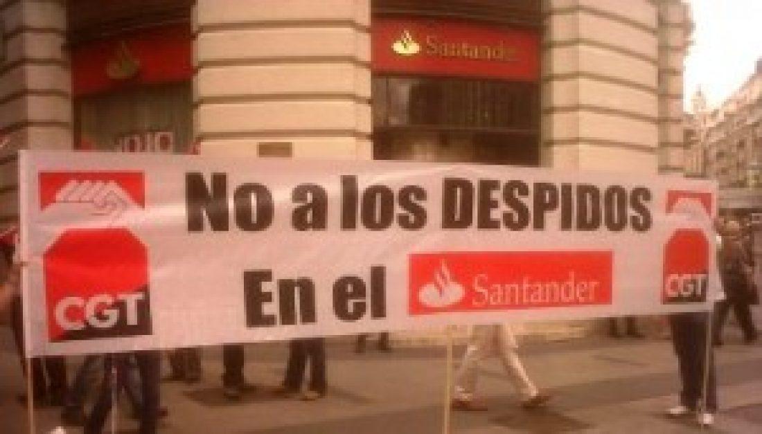 Intervención CGT en J.G.A. Banco Santander 2014