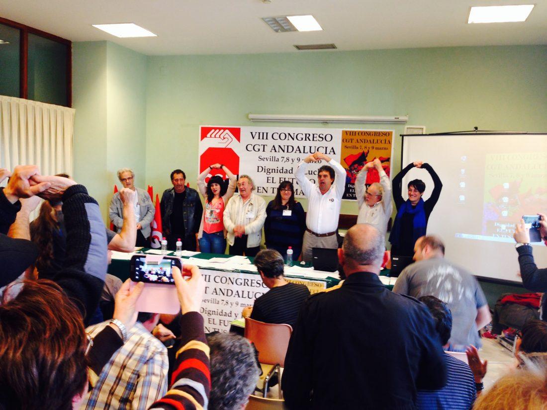 El malagueño Miguel Montenegro elegido secretario general de CGT en su VIII Congreso andaluz