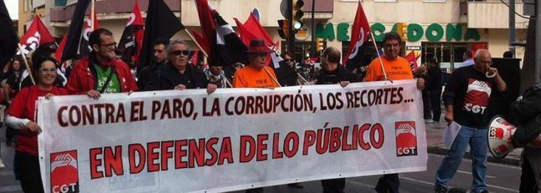 27 de marzo jornada en defensa de lo público