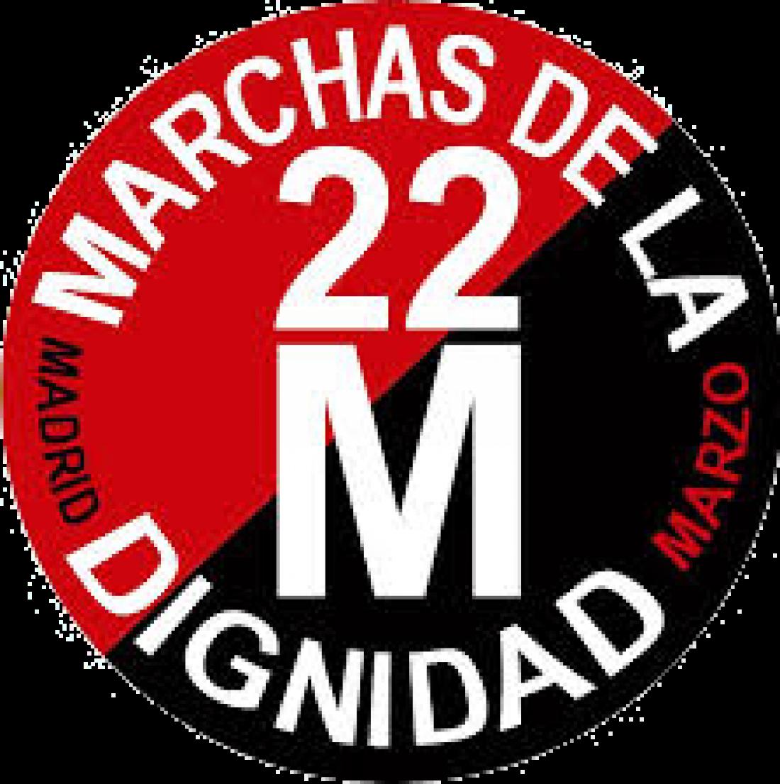 Vídeos: Miles de personas marchan hacia Madrid #22M