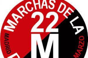 Vídeo: CGT acompaña Columna Sur Marcha 22M