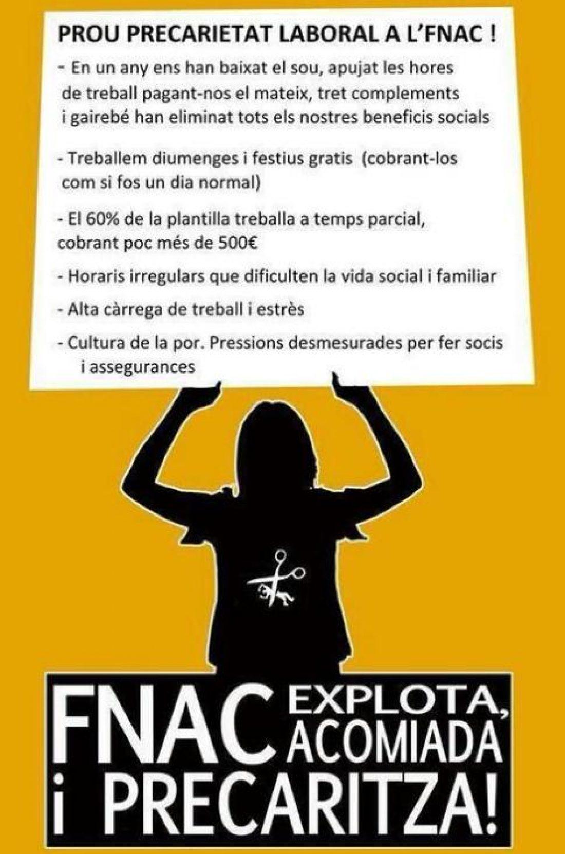 FNAC huelga 23A, día del libro