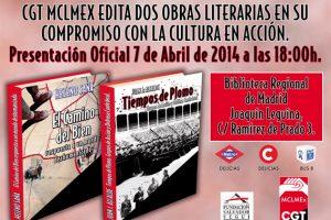 7 de abril, presentación de libros fundamentales para nuestra biblioteca
