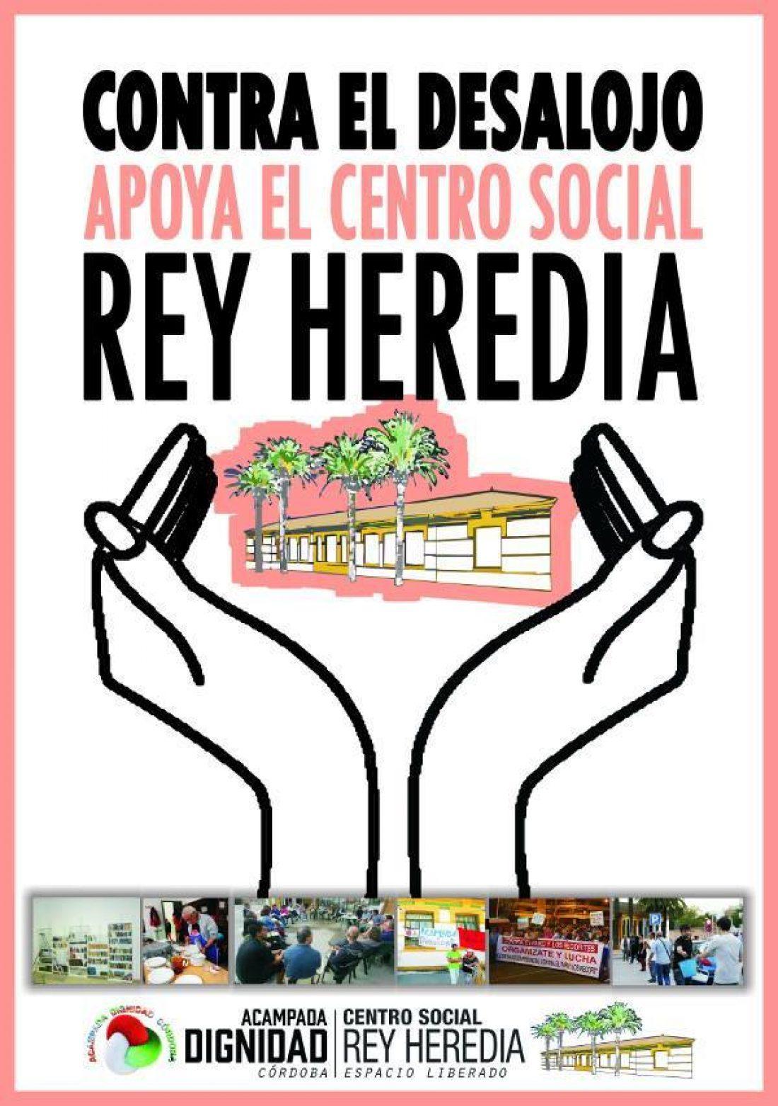 El secretario General de CGT Andalucía visitará el centro social Rey Heredia para mostrar el apoyo del sindicato