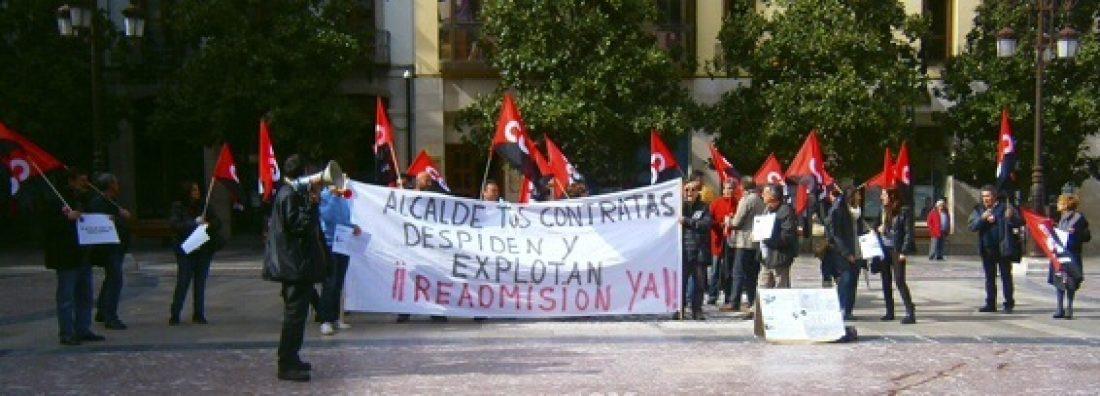 CGT arranca del Ayuntamiento de Granada un compromiso para la readmisión del trabajador despedido de Fábricas y Drenajes