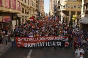 Vídeo 1 mayo, Valencia