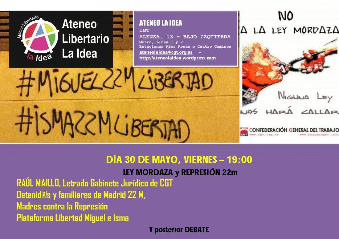 Ateneo La Idea – Ley Mordaza Y Represión. Libertad Presos