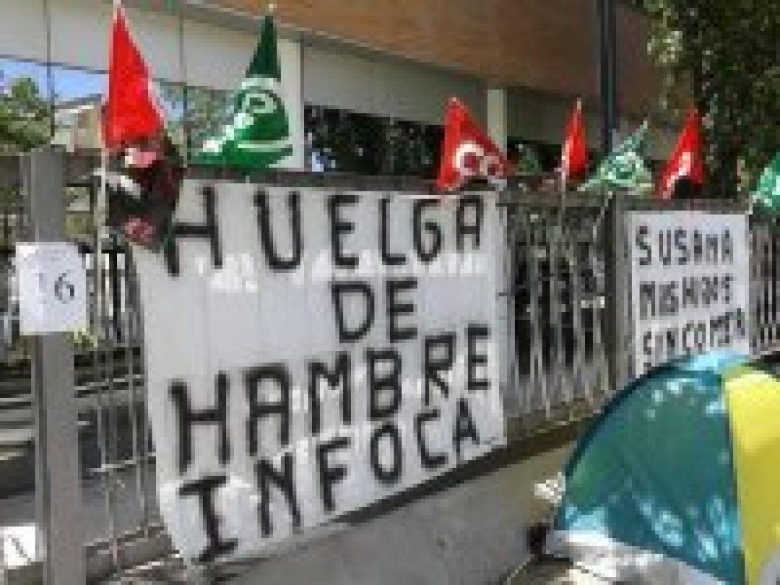 CGT exige a la Junta de Andalucía solución a la huelga de hambre de los bomberos forestales