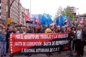 Fotos 1 mayo, Asturias