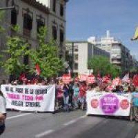 Fotos 1 mayo Granada