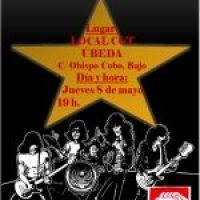 Charla Hª del Rock como movimiento social