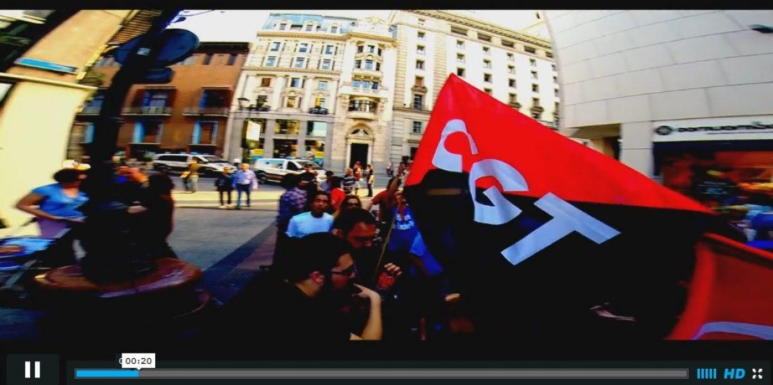 Vídeo: Éxito en la Huelga de HP